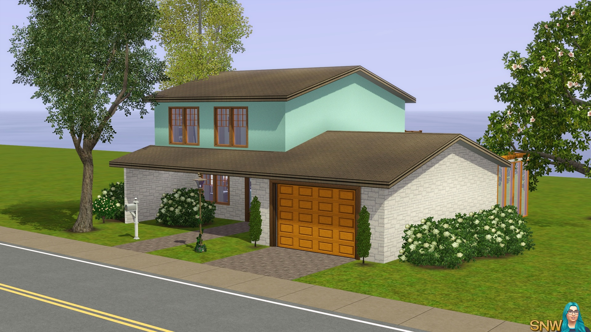 Mid Century Charm Snw Simsnetwork Com