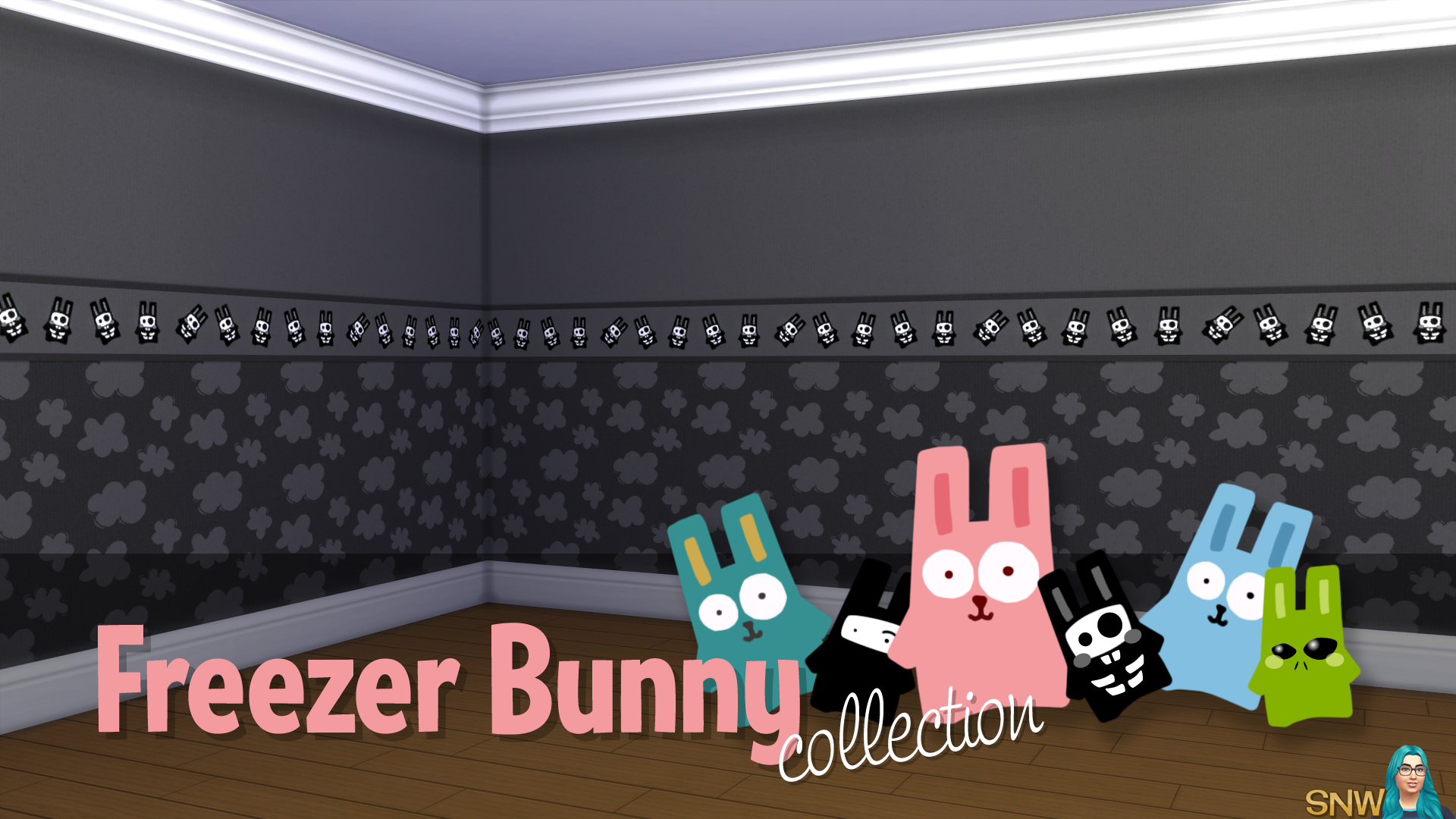 Freezer Bunny Collection Clouds Wallpapers Snw