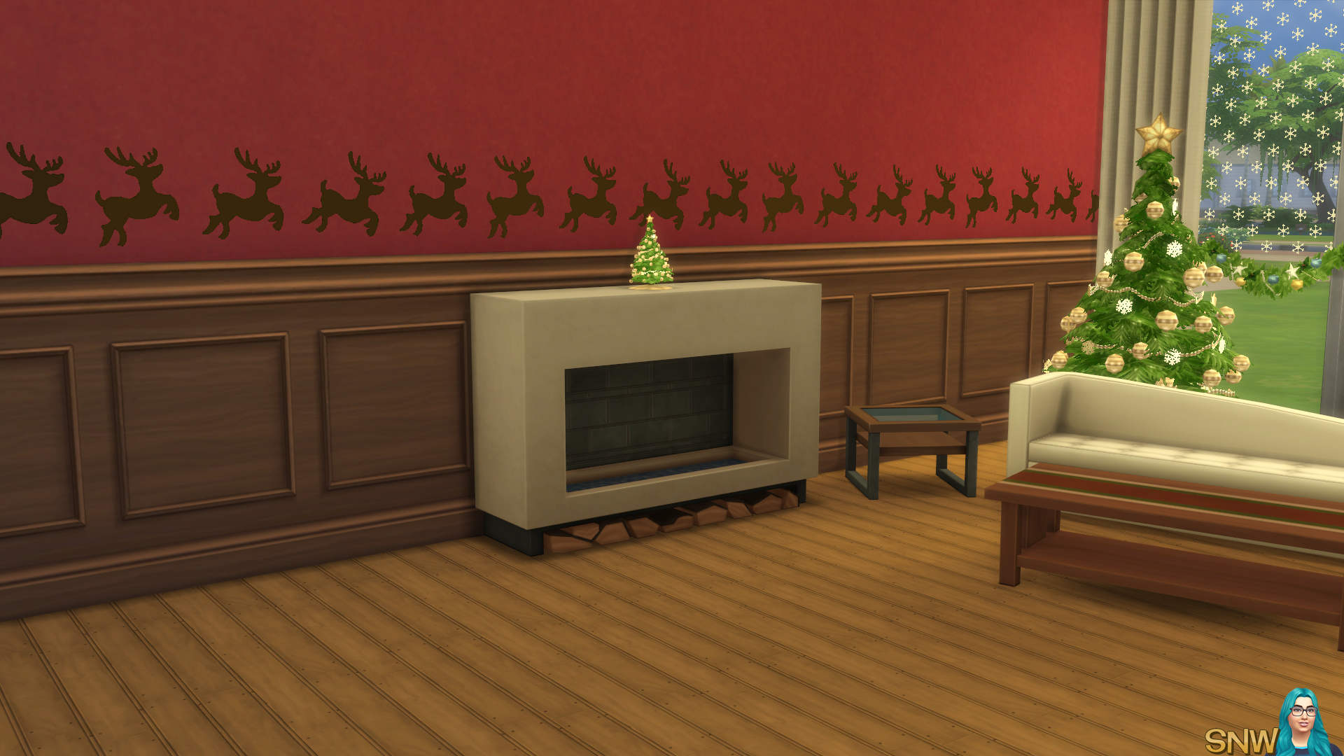 Christmas 2015 Decals And Borders Snw Simsnetwork Com