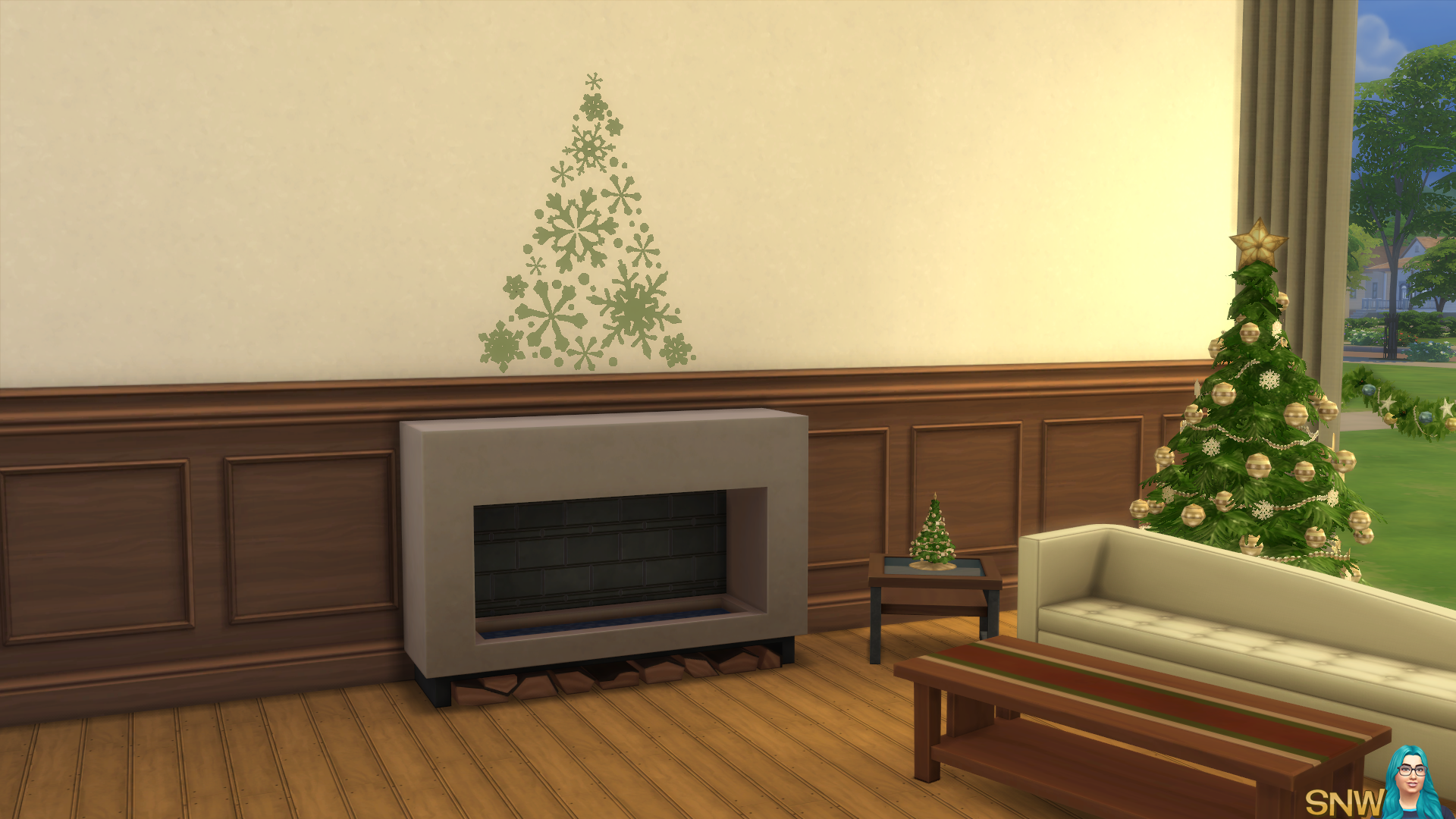 Christmas 2015 Decals and Borders | SNW | SimsNetwork.com