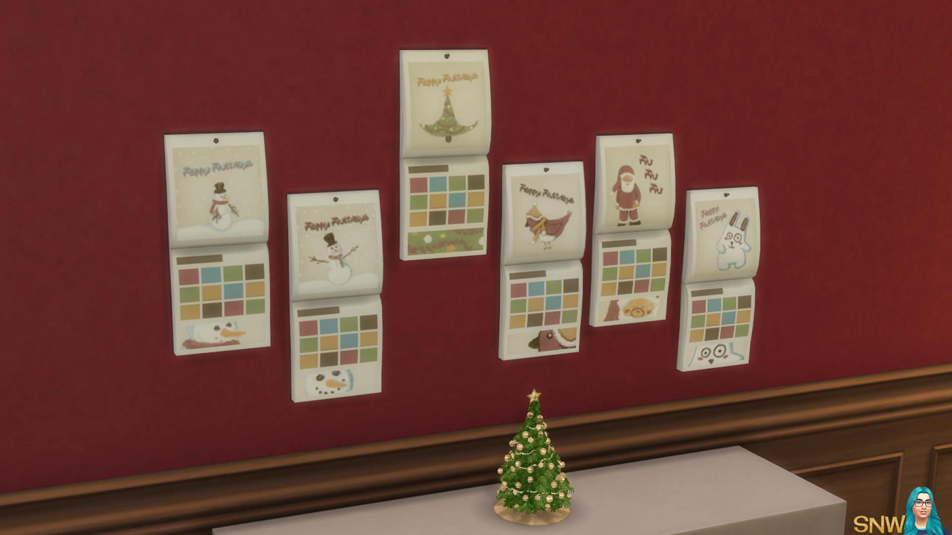 Christmas Calendar 2015 Snw Simsnetwork Com