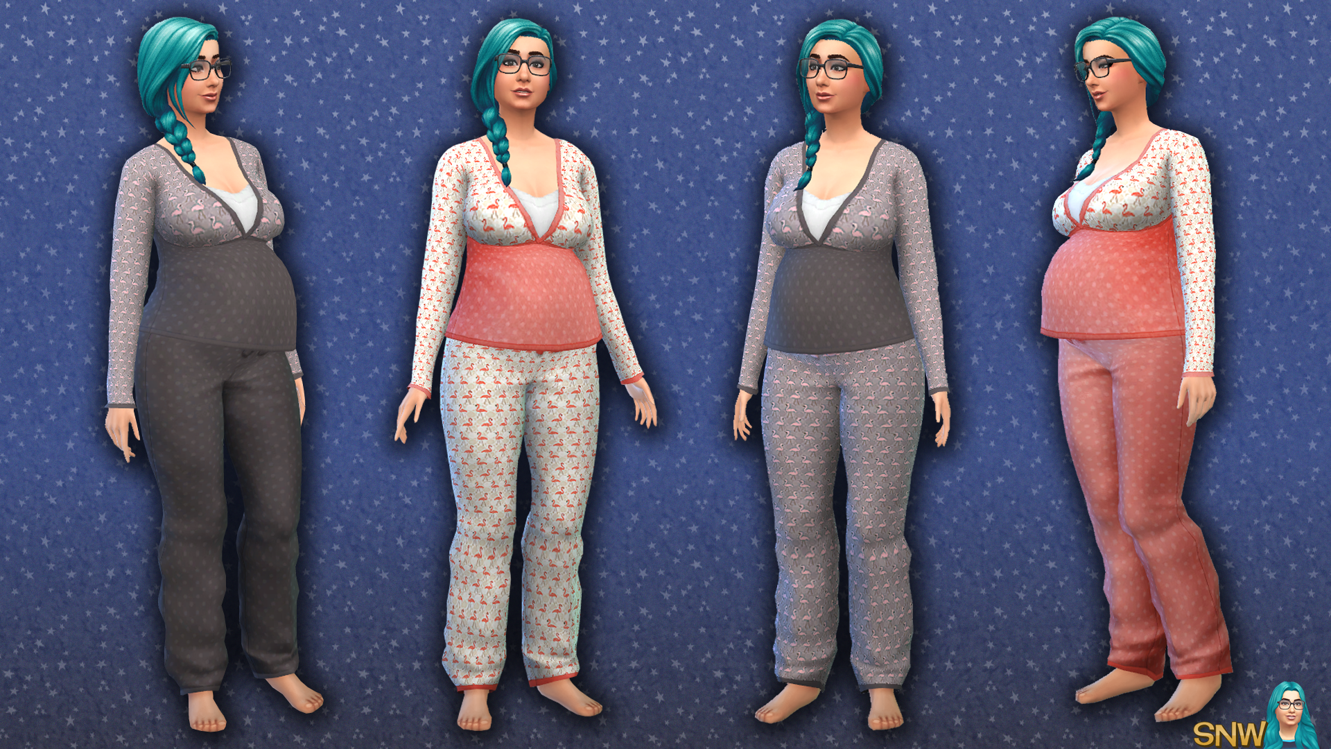 Maternity Flamingo Pants Snw Simsnetwork Com