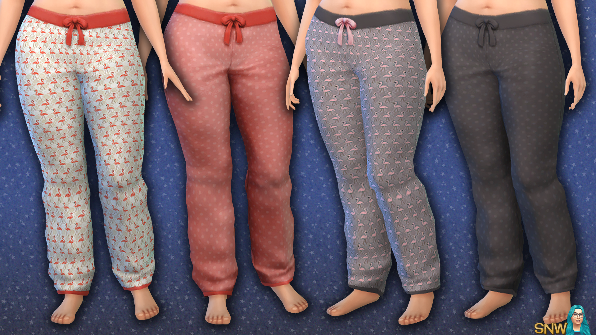Maternity Flamingo Pants Snw Simsnetwork Com