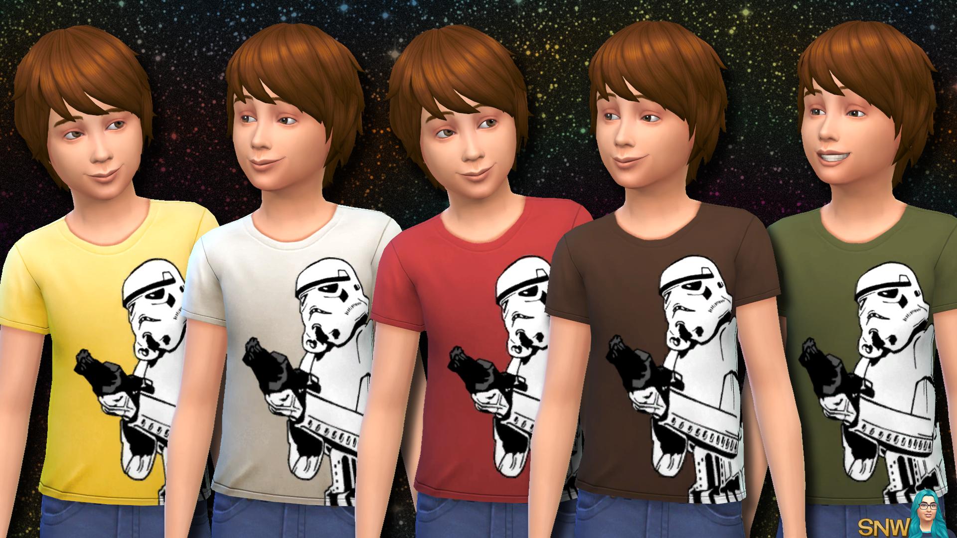 bb8a529a0d6 Sims 4 Child T Shirt