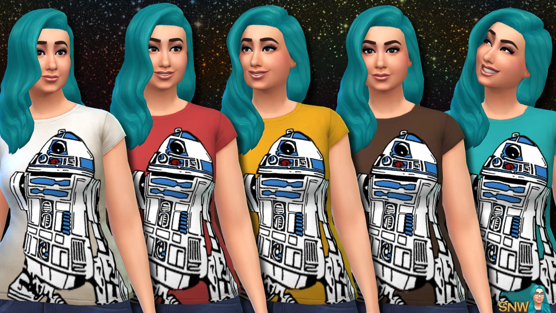 Sims 4 Shirts Female