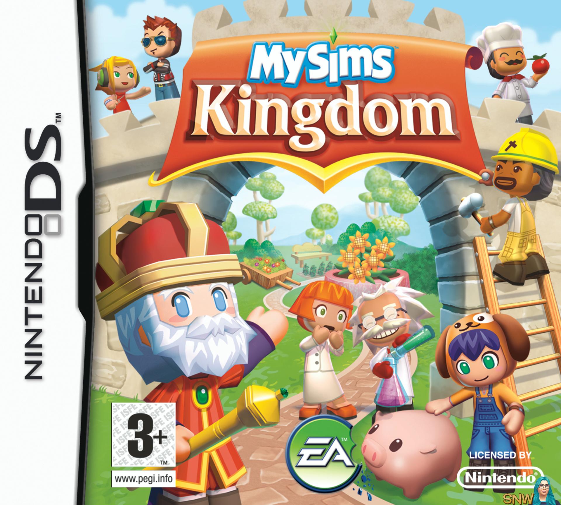 Mysims Kingdom Ds Box