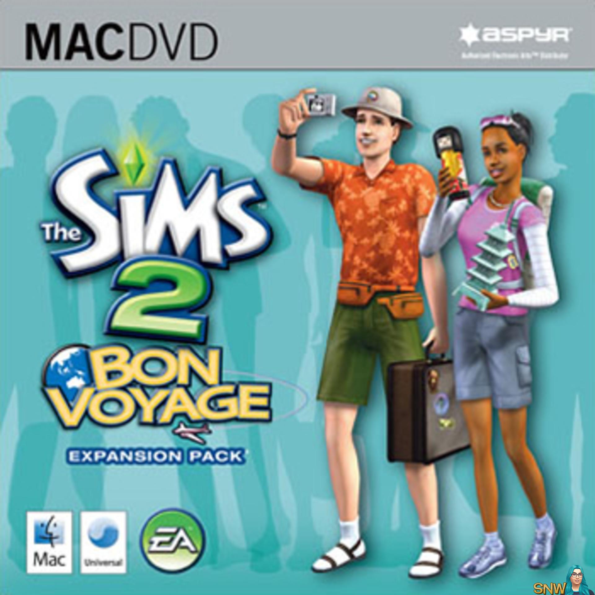 The Sims 2 Bon Voyage - Mac