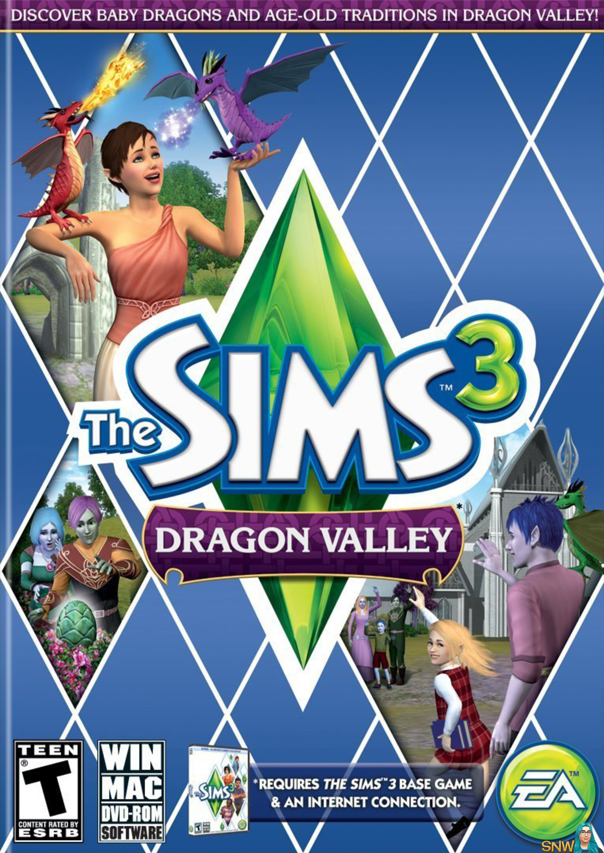 The sims 3 dragon valley snw for Case the sims 3 arredate