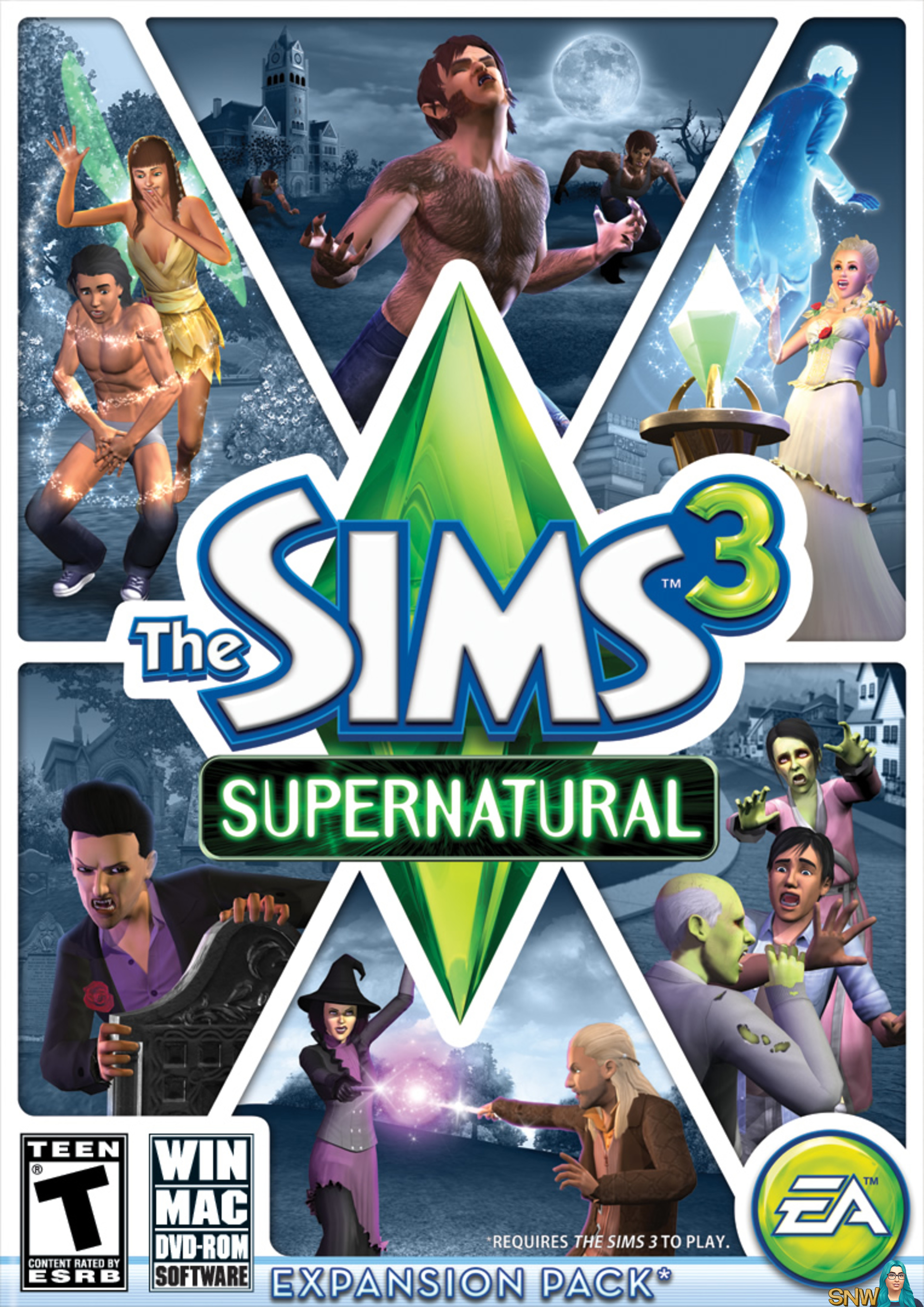The Sims 3 Supernatural Snw Simsnetwork Com