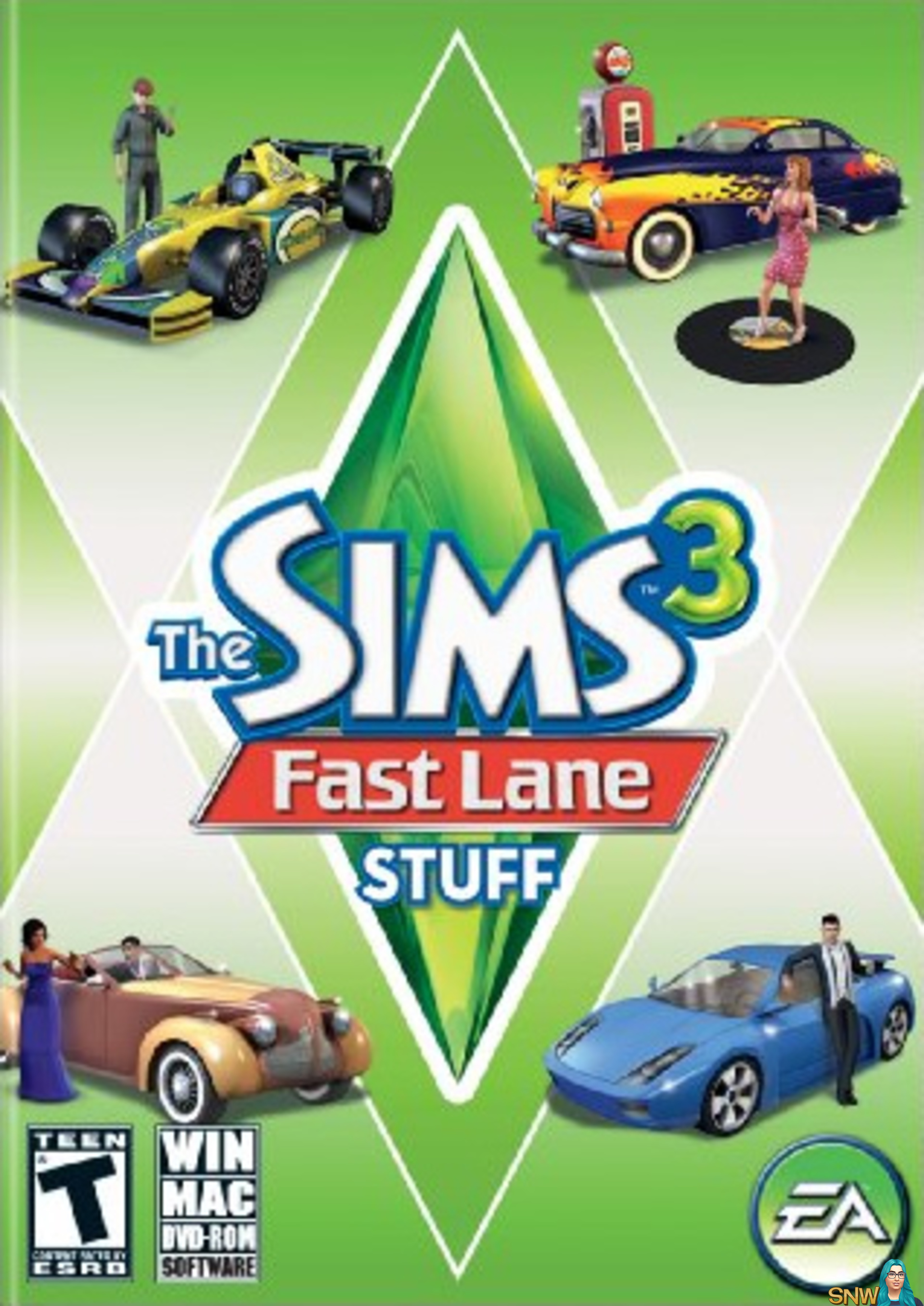 The Sims 3 Fast Lane Stuff Snw Simsnetwork Com