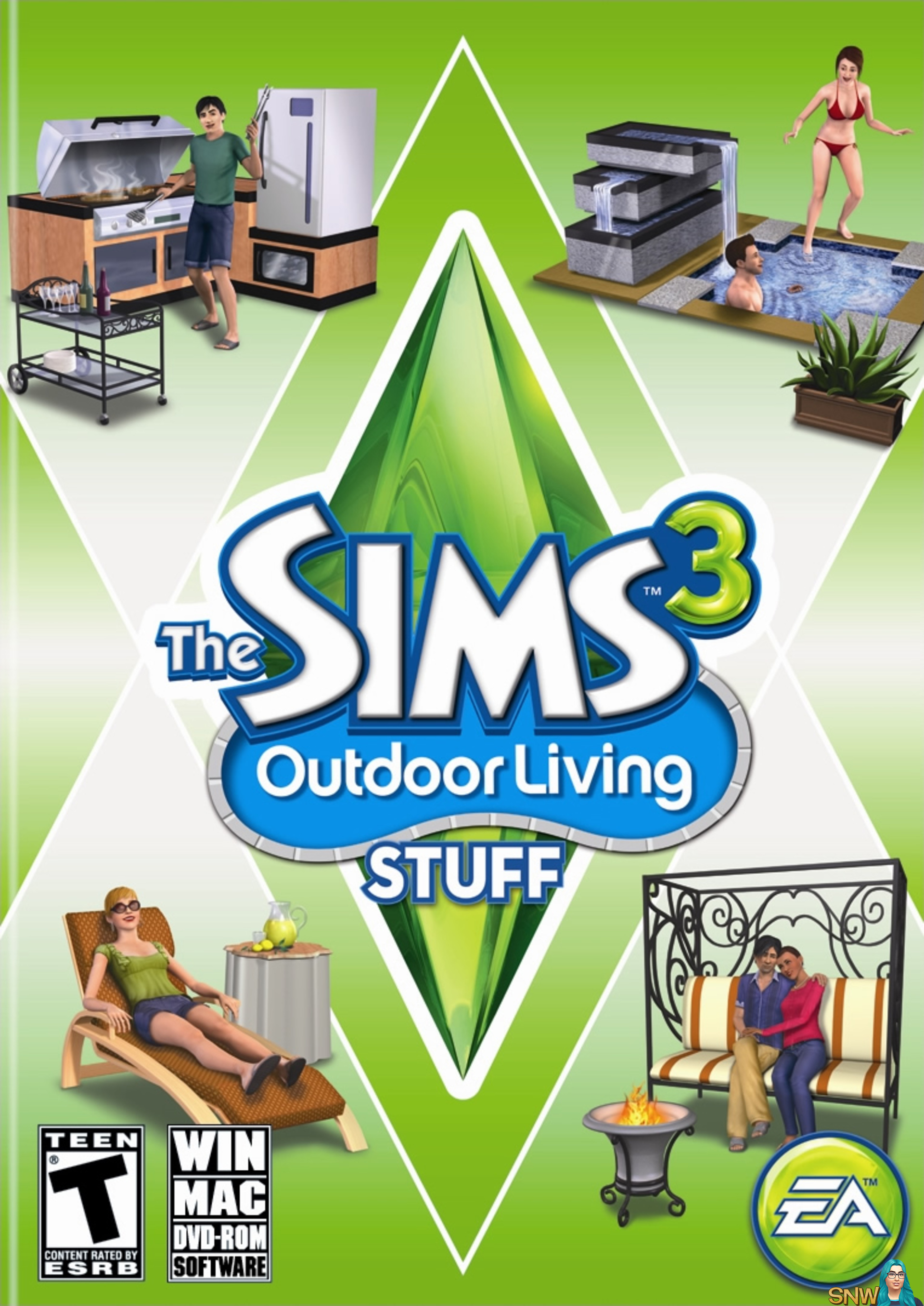 The Sims 3: Outdoor Living Stuff   SNW   SimsNetwork com