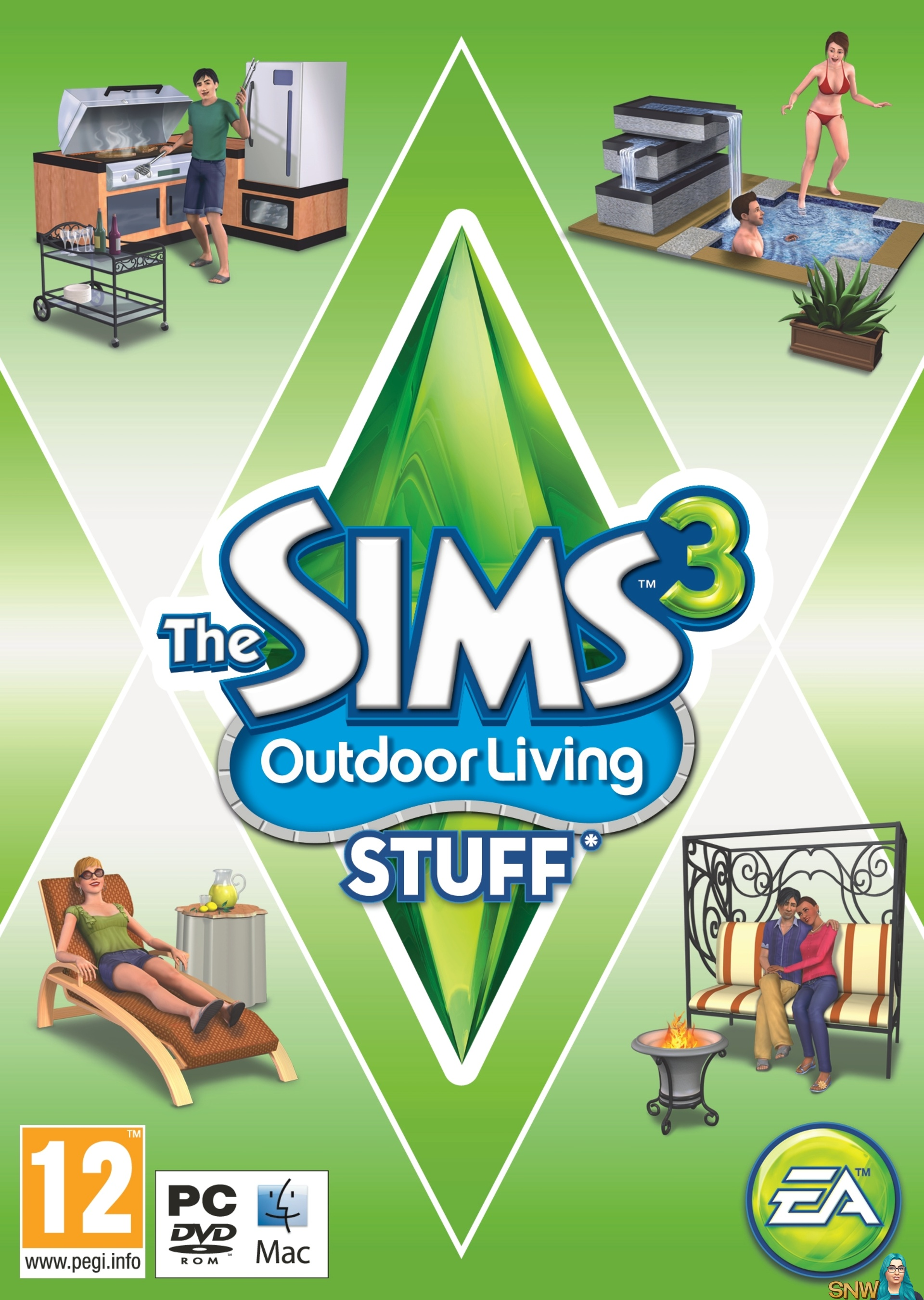the sims 3 outdoor living stuff snw simsnetwork com