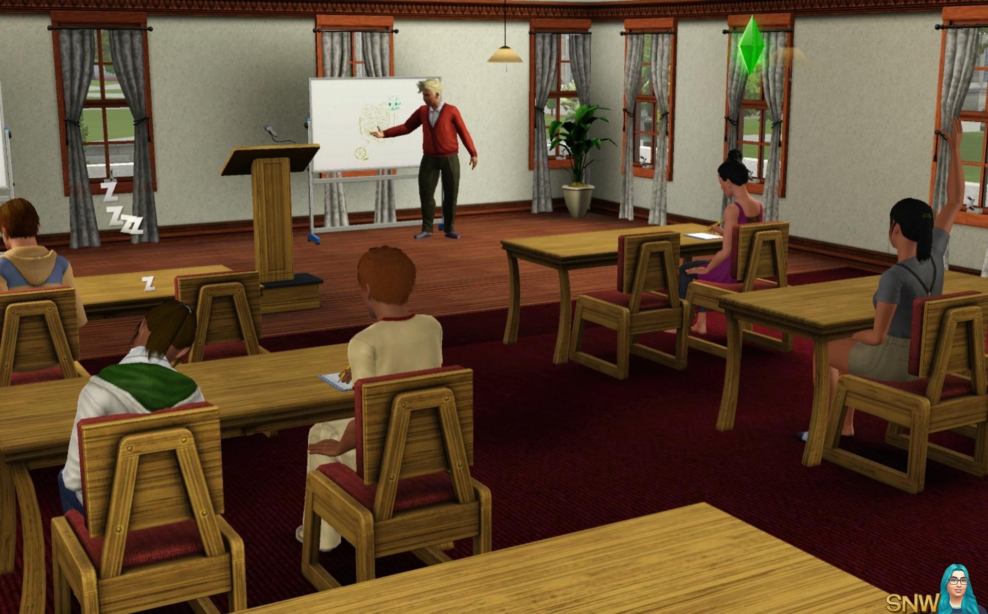 Sims 2 universitet dating professor