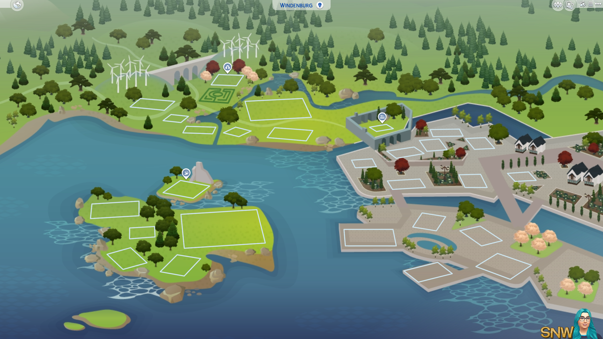 The Sims  Cats And Dogs Map