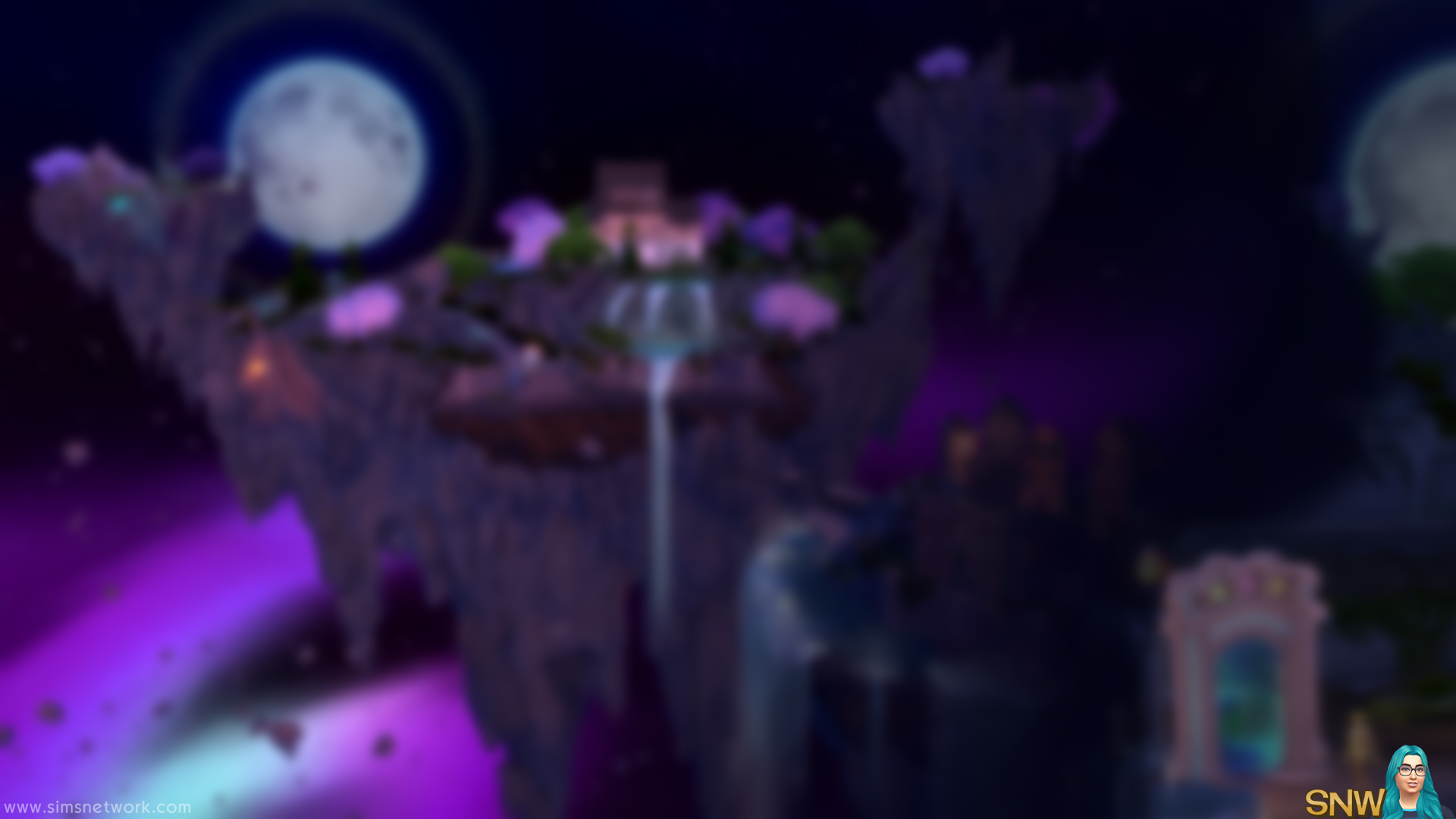Realm Of Magic Wallpapers Snw Simsnetworkcom