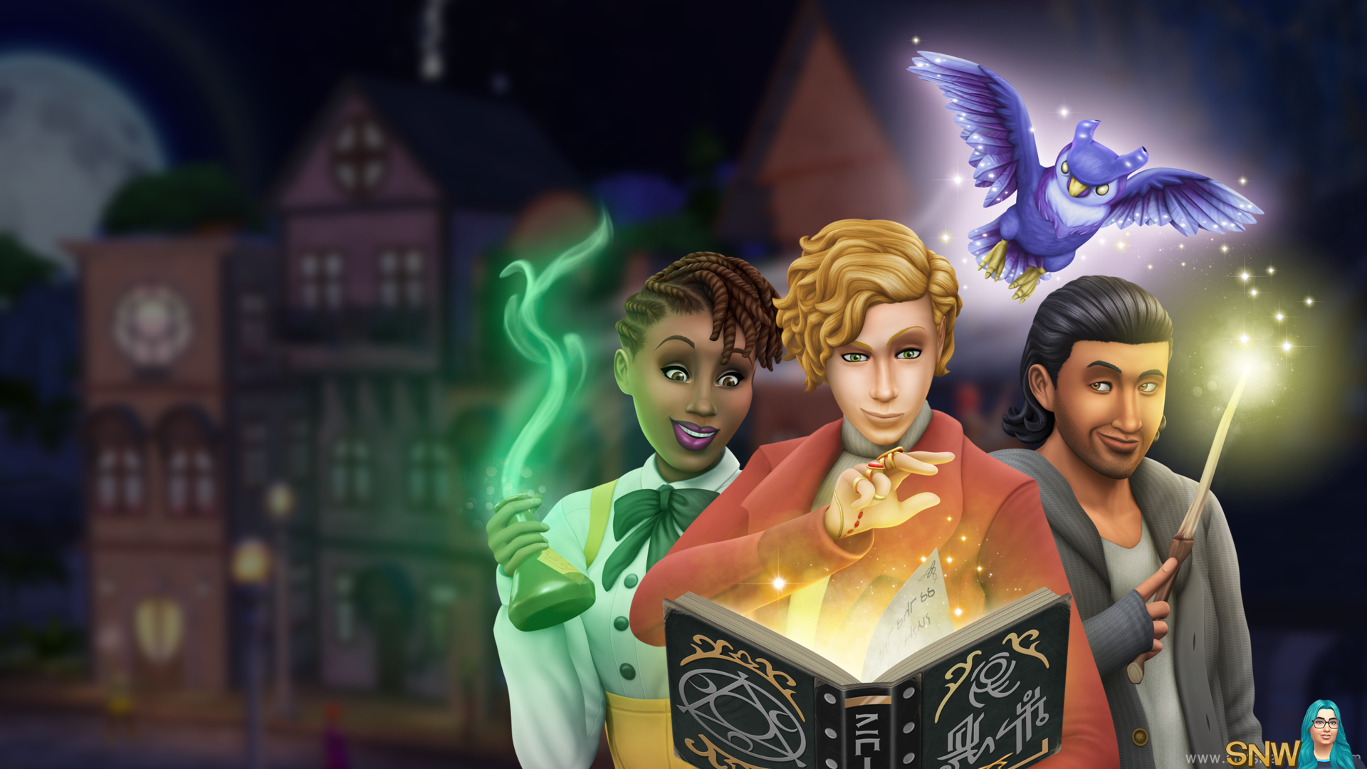 Realm Of Magic Wallpapers Snw Simsnetwork Com