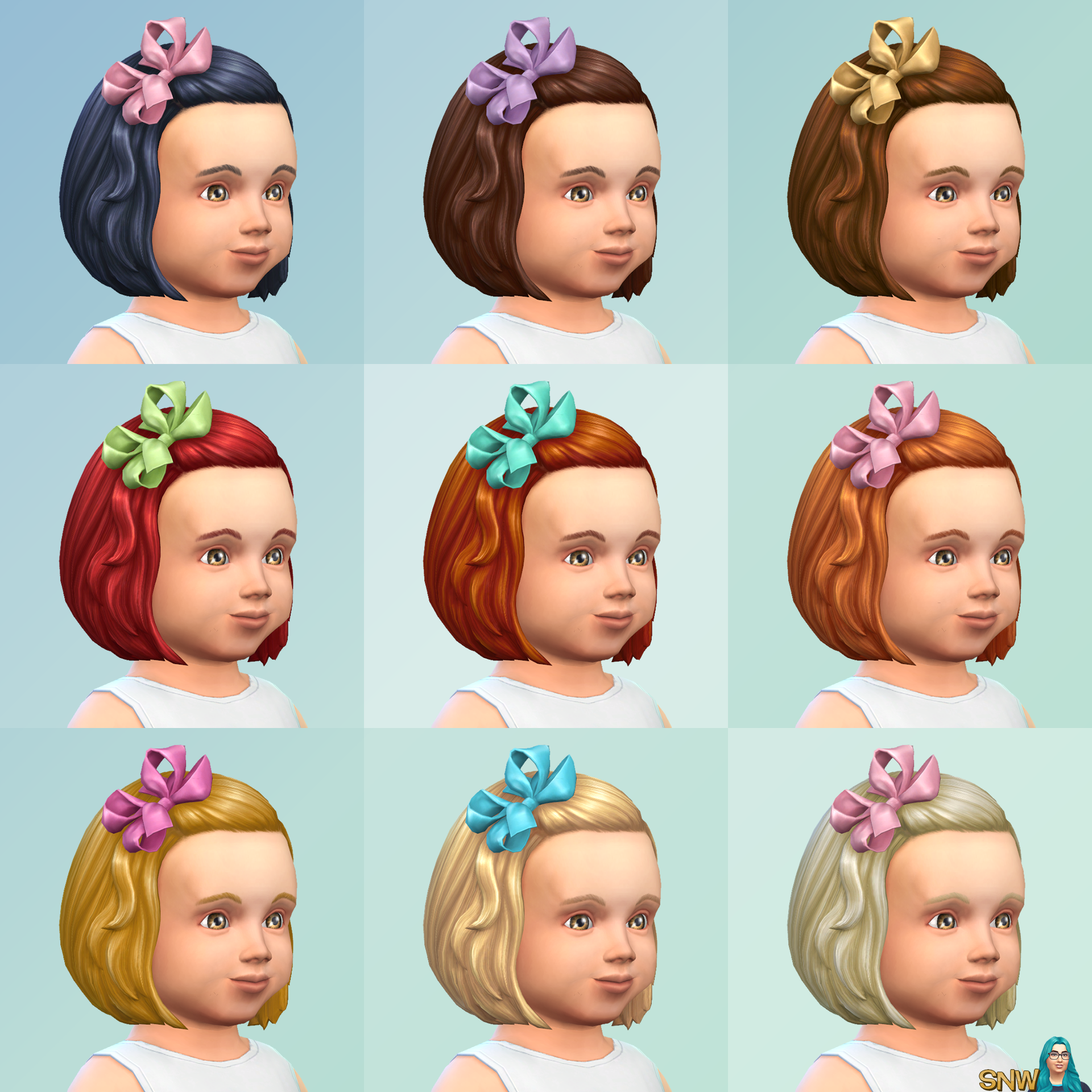 The Sims 4 Toddler Stuff Cas Overview Snw Simsnetwork